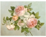Pimpernel Tischsets ANTIQUE ROSES
