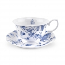 Teetasse Botanic Blue