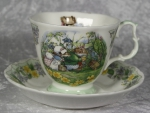 Brambly Hedge Tasse mit Untertasse -The Outing-