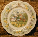Brambly Hedge Wandteller -The Outing-